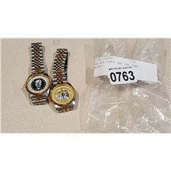 2 AIR FORCE WATCHES ARMY