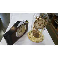 FORESTVILLE MANTLE CLOCK AND DOME CLOCK