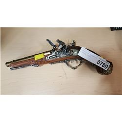 REPRODUCTION DECORATIVE FLINTLOCK PISTOL