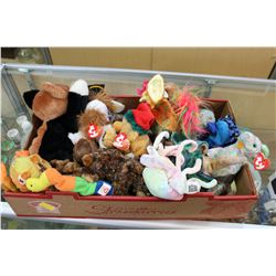 TRAY OF TY BEANIE BABIES