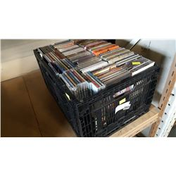 LARGE CRATE OF CDS