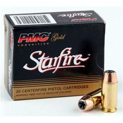 200 Hollow Pt: PMC 45ACP Ammunition Gold PMC45SFA 230 Grain Starfire Jacketed Hollow Point
