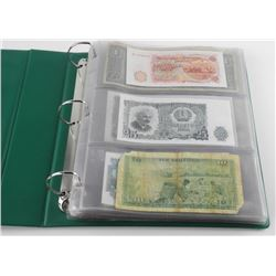 World Bank Note Collection Binder Full