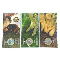 Lot (3) RCM Dinosaur Coin and Folio, Sold Out.
