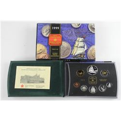 1999 Proof Mint Coin Set with Silver