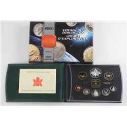 2000 Proof Mint Coin Set with Silver