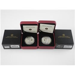 2x 925 Sterling Silver Royalty Coins, $15.00 'Prin