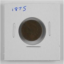 1875 Indian Head USA One Cent