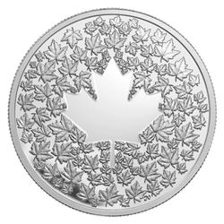 $3.00 - 2013 Maple Leaf Impression .9999 Fine Silv