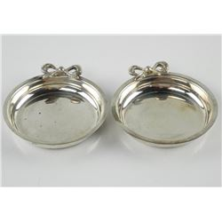 Estate - Lot (2) Sterling Silver Trays