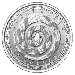 2013 .9999 Fine Silver 'Year of the Snake - Chines
