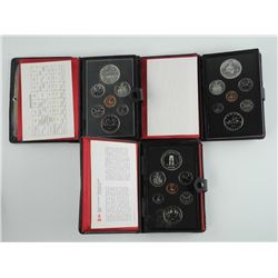 Lot (3) RCM - Double Dollar Coin Set.