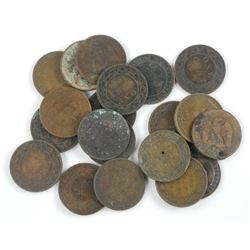 Lot (20) Large Cent Estate.