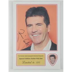 'Simon Cowell' 4x6 Photo Card with Pick