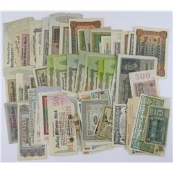 Estate Lot - German Bank Notes