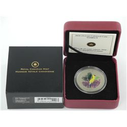 2010 RCM - 25 cent Coloured Coin 'Goldfinch' Sold