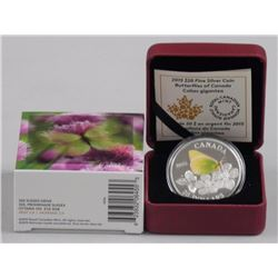 2015 - $20.00 Fine Silver Coin, 'Butterflies of Ca