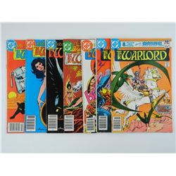 Estate lot (7) DC Comics 'The Warlord' CAT $210.00