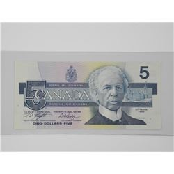 Bank of Canada 1986 $5.