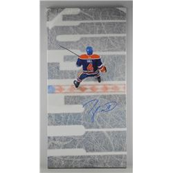"Taylor Hall Canvas 14x29"" Signed"
