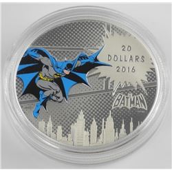 .9999 Fine Silver $20.00 Coin 'DC Comics - The Dar