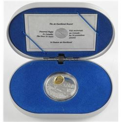 925 Sterling Silver $20.00 Proof Coin 'The Beaver'
