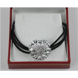 Fancy Hairpin/Bracelet, Set w/17.)ct. Swarovski El