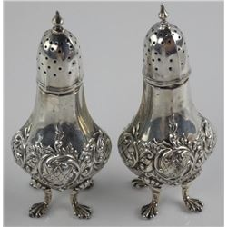 Estate - Lot Sterling Silver Salt and Peppers