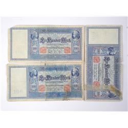 3x World Banknote.