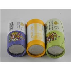 Lot (3) Original Special Mint Wrap Rolls - CAD 50