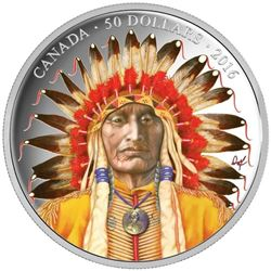 2016 $50 Wanduta: Portrait of a Chief - 5-oz. Pure