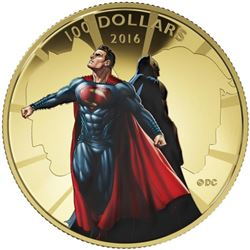 2016 $100 Batman v Superman: Dawn of Justice - 14k