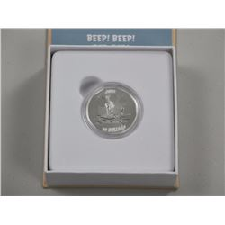 2015 $10 Fine Silver Coin - Looney Tunes - Beep! B