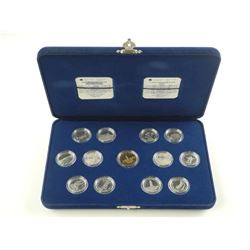 1992-925 Sterling Silver 25 Cent Collection