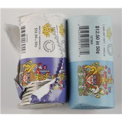 Lot (2) Rolls - Special Mint Wrap 2014-2015 - 50 C