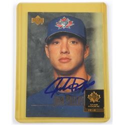 Josh Phelps - Blue Jays 'UD' Star Rookie Card Sign