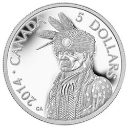 2014 - .9999 Pure Platinum Coin $5.00 Legend of Na