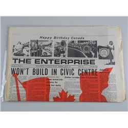 The Enterprise - Newspaper Dated June 28 1967. 186