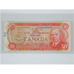 Bank of Canada 1975 - 50.00 'RCMP'