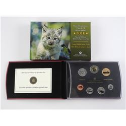 2010 Special Edition $2.00 Coin set 'Lynx'.