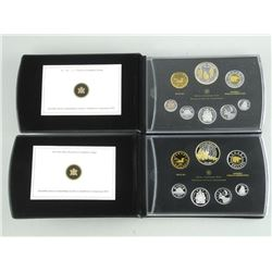 Set (2) Fine Silver Proof Coin Sets, Two Important Issues-10th Archived. 2012 - First Yet all Coin S