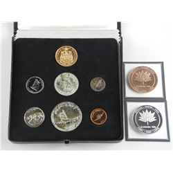 1867 - 1967 Mint Coin Set, As Issued From RCM, Includes .900 Fine - $20.00 Gold Coins, Bonus .9999 F