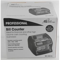 'Royal Sovereign' Money Counting Machine, High-Speed Bill Counter. Brand New in Box. Ebay $410.00 CA