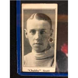 "1923 V128-1 PAULIN'S CANDY #52 ""Chubby"" Scott"