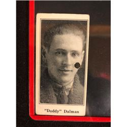 "1923 V128-1 PAULIN'S CANDY #13""DADDY"" DALMAN"