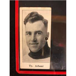 1923 V128-1 PAULIN'S CANDY #44 Ty Arbour **