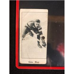 1923 V128-1 PAULIN'S CANDY #28 George Hay