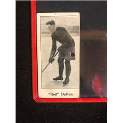 "1923 V128-1 PAULIN'S CANDY #62 ""Red"" Dutton"