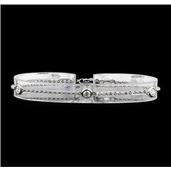 14KT White Gold 0.60 ctw Diamond Bracelet