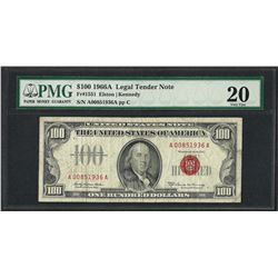 1966A $100 Legal Tender Note Fr.1551 PMG Very Fine 20